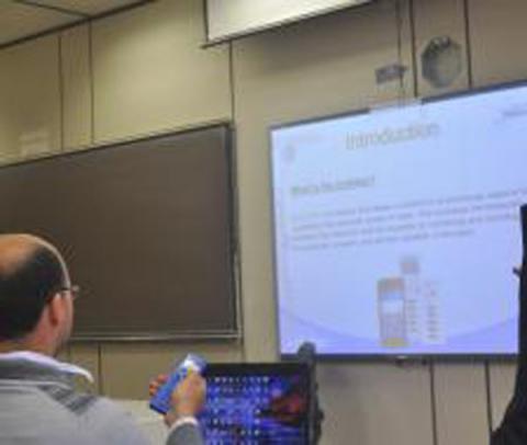 """دورة تدريبية لإجهزة الإستجابة الشخصية """"كليكيزر"""""""